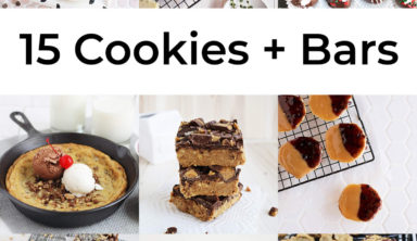 15 Easy Cookie and Bar Recipes!