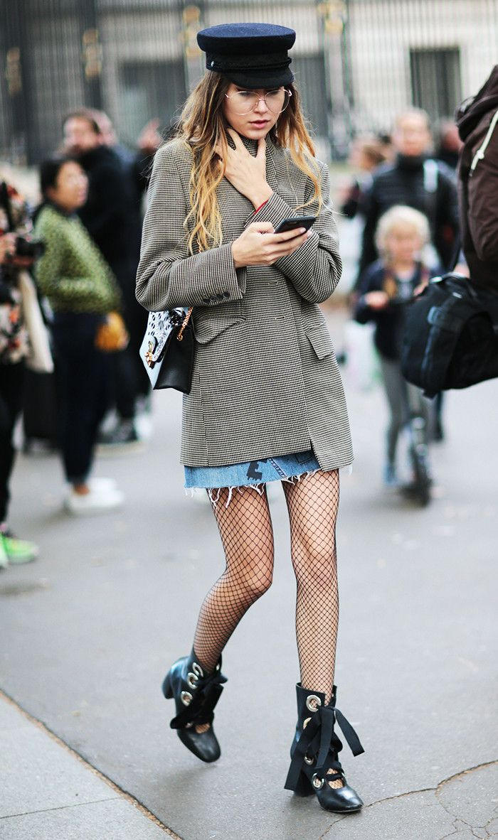 Your Fashion-Friendly Guide to Wearing Fishnets 67