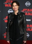 """Minnie Driver poses at the world premiere of """"Star Wars: The Last Jedi"""""""