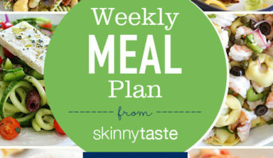 New Skinnytaste Meal Planner (Updated + Revised) and a FREE 7 Day Meal Plan