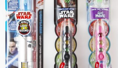 Feel the Force this Season with Firefly Star Wars Toothbrushes
