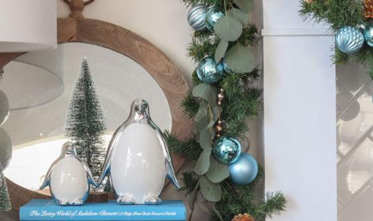 4 Keys to Fresh Christmas Decor (Even with Brown Furniture)