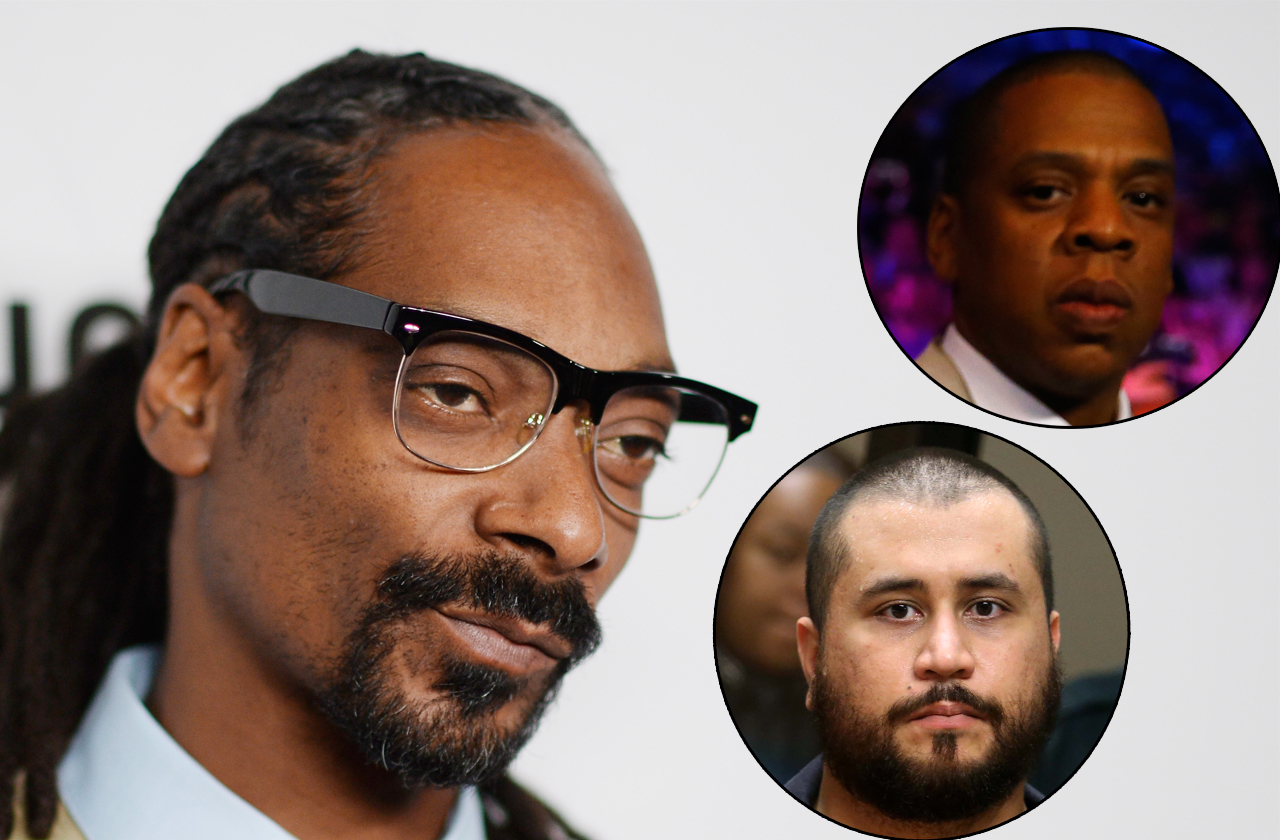 Back Off! Snoop Dogg Warns George Zimmerman Over Jay-Z Threat 72