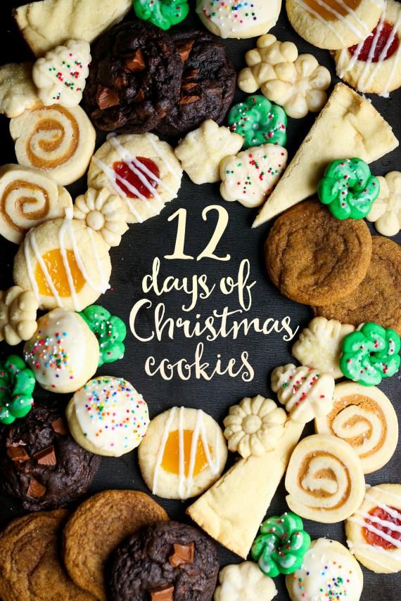 12 Days of Christmas Cookies