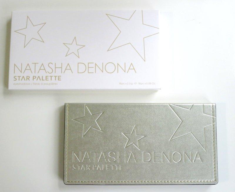 Natasha Denona Star Eyeshadow Palette Packaging