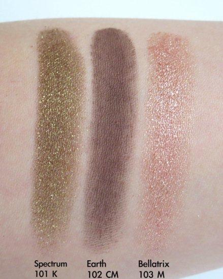 Natasha Denona Star Eyeshadow Palette Swatches 1