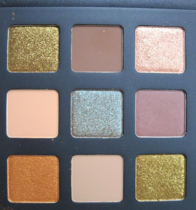 Natasha Denona Star Eyeshadow Palette Shades Left Side