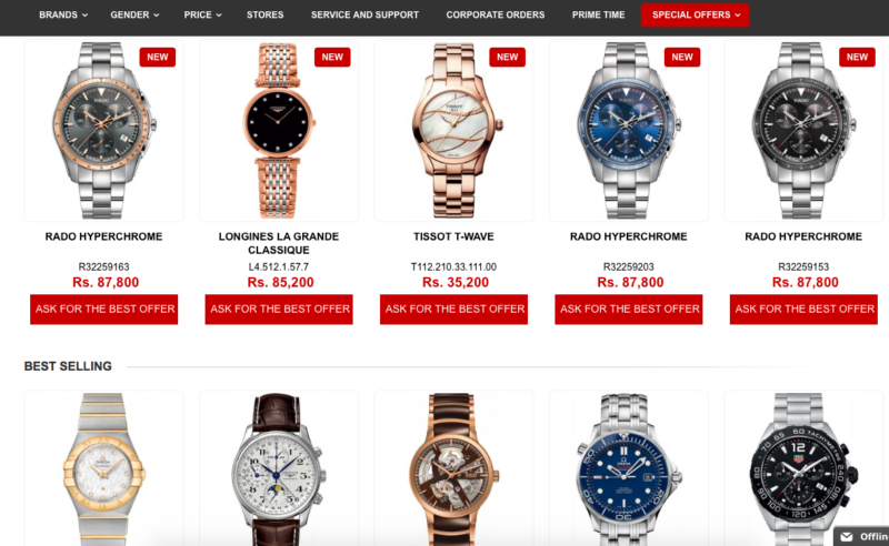 Luxury, Designer Watches For Men - The Prime