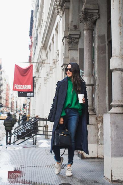 Winter Coats under $150 :: Long coat & Classic peacoat 38