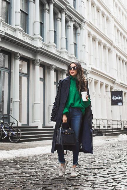 Winter Coats under $150 :: Long coat & Classic peacoat 40