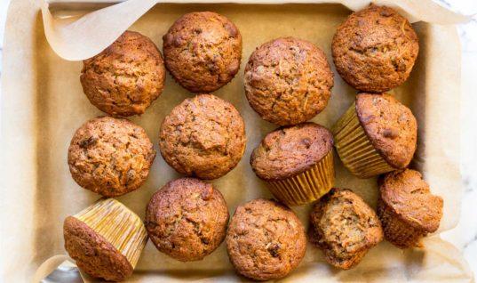 Morning Glory Muffins Recipe   SimplyRecipes.com