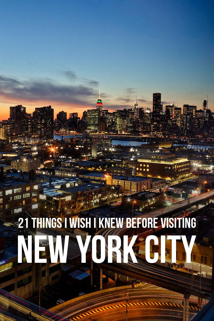 21 Essential Tips for Visiting New York // localadventurer.com