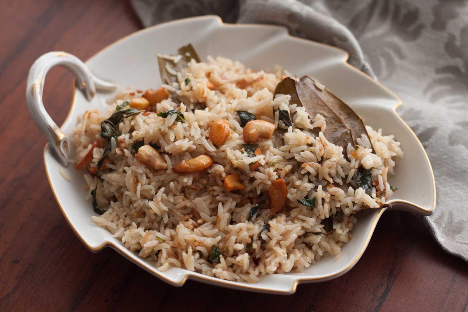 Thengai Paal Sadam Recipe (Coconut Milk Pulao) by Archana's Kitchen 36