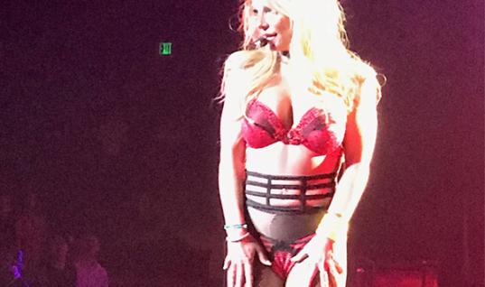 Britney Spears Kidding Quitting Vegas
