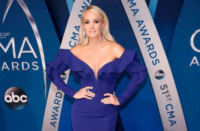 Carrie Underwood Maybe Got Drunk And Fell Down The Stairs