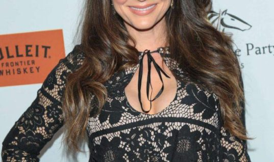 Cerina Vincent Looks Radiant At Horse Racing Gala