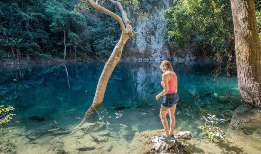 Emerald Lake: A Cenote in Thailand?!