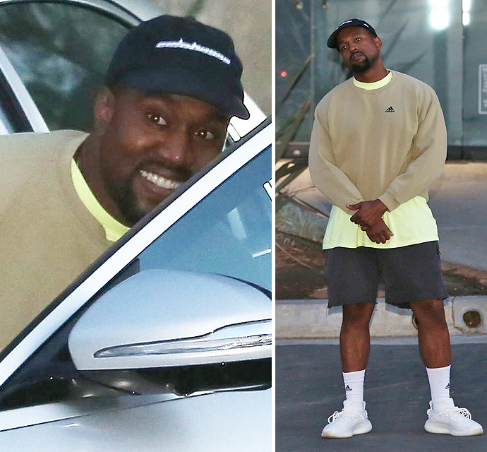 EXCLUSIVE PHOTOS - Kanye West Burns The Midnight Oil In Anticipation Of Baby #3's Arrival - X17 Online 36