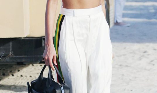 Hailey Baldwin Just Wore the Trend You'll All Buy This Spring