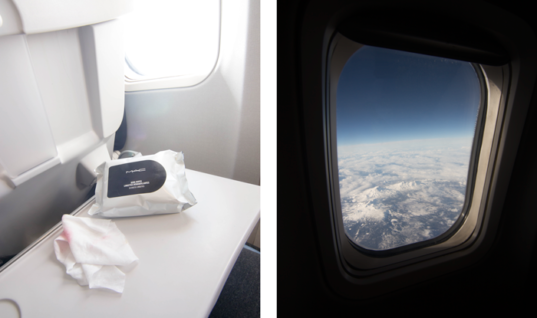 In-Flight Beauty: From the West Coast to the Slopes