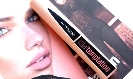 Maybelline Total Temptation Mascara / British Beauty Blogger