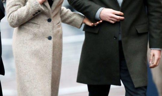 Meghan Markle Is Dressed Like a True Londoner in a £45 M&S Jumper