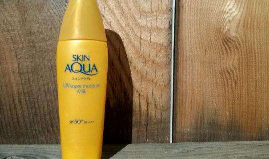 Review: Skin Aqua UV Super Moisture Milk SPF 50+ PA++++, Plus Sunscreen Reminders