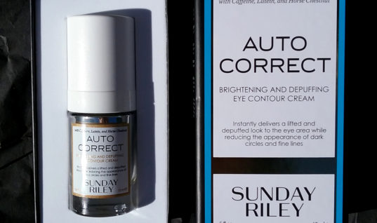 (Bad) First Impressions: Sunday Riley Auto Correct
