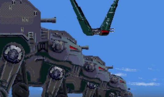The Last Jedi 16-bit Recreation