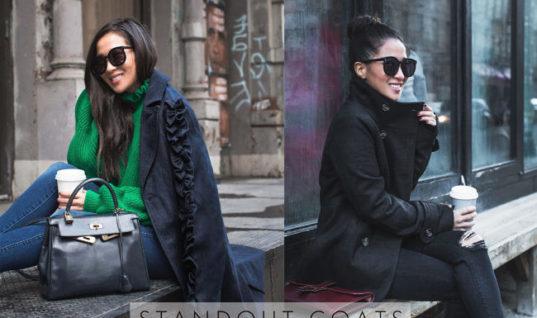 Winter Coats under $150 :: Long coat & Classic peacoat