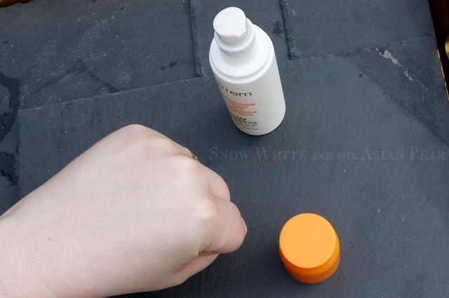 Make P:rem Sunscreen with no white cast