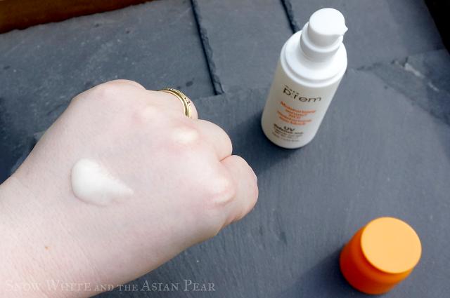 Make P:rem UV Capsule Sun Gel amount