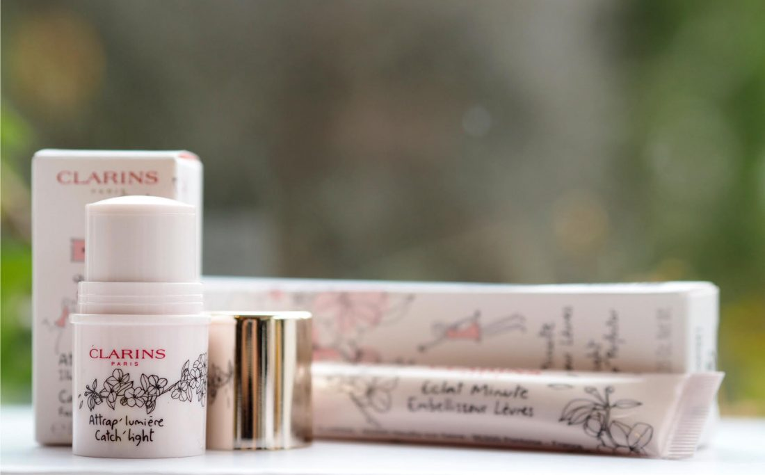 Clarins White Flowers Collection / British Beauty Blogger 39
