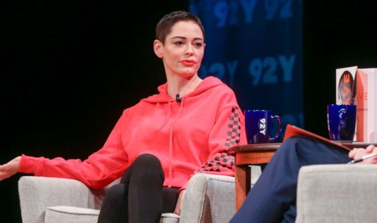 Ronan Farrow Interviews Rose McGowan About Brave