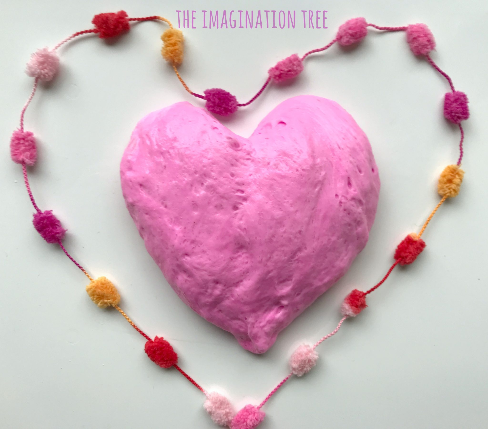 Valentine's Fluffy Slime Recipe! - The Imagination Tree 41