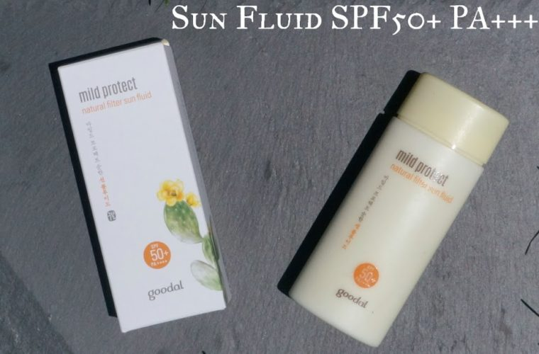 Goodal Mild Protect Natural Filter Sun Fluid SPF50+ PA++++ Review: When You Need to Express Your Inner Mime
