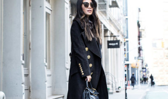 Military Wednesday :: Military coat & Platform boots