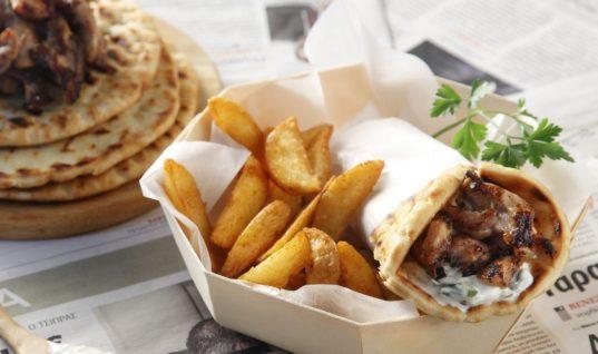 Tasty Greek Pork Gyro Recipe | Akis Kitchen