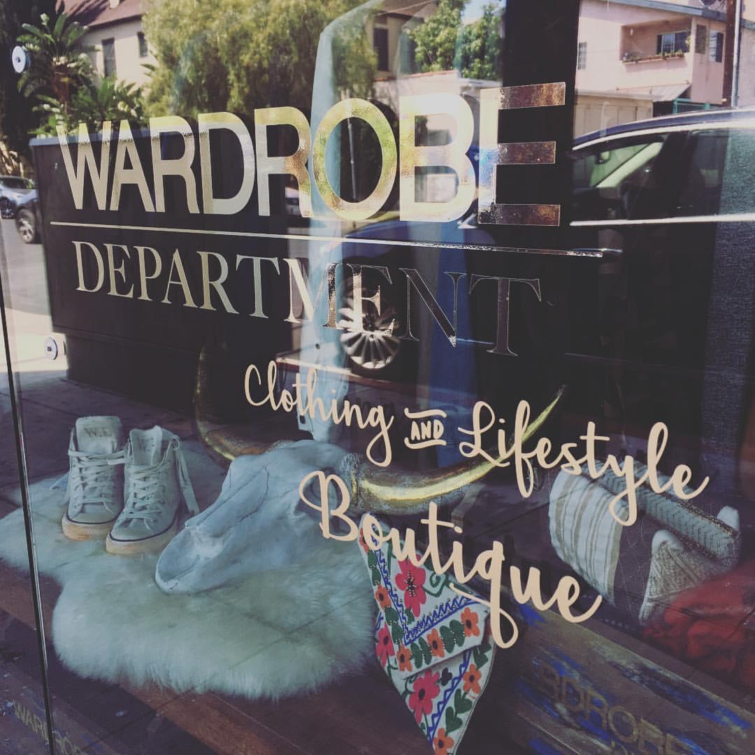 Bomb LA Boutique Spotlight founded by legendary stylists: Wardrobe Department LA 37
