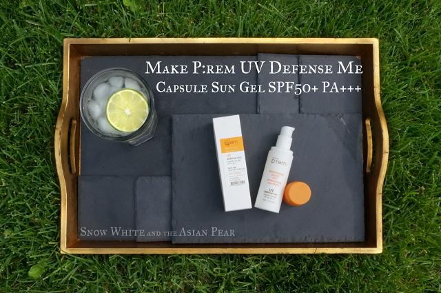 Make P:rem UV Defense Me Capsule Sun Gel SPF50+ PA+++