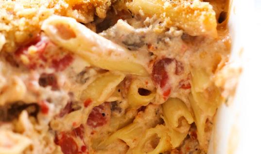 Creamy Italian Pasta Casserole – Chef in Training