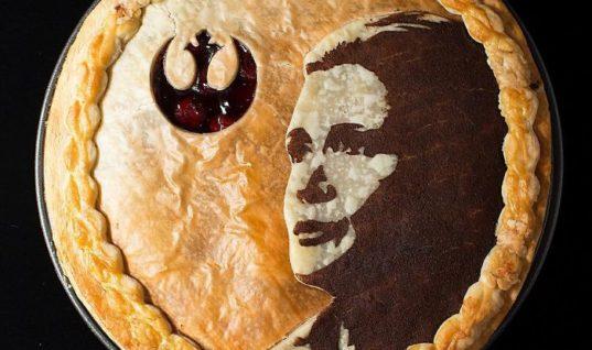 General Leia Organa Pie