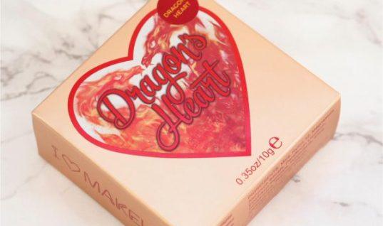 I Heart Make Up Dragon's Heart Highlighter / British Beauty Blogger