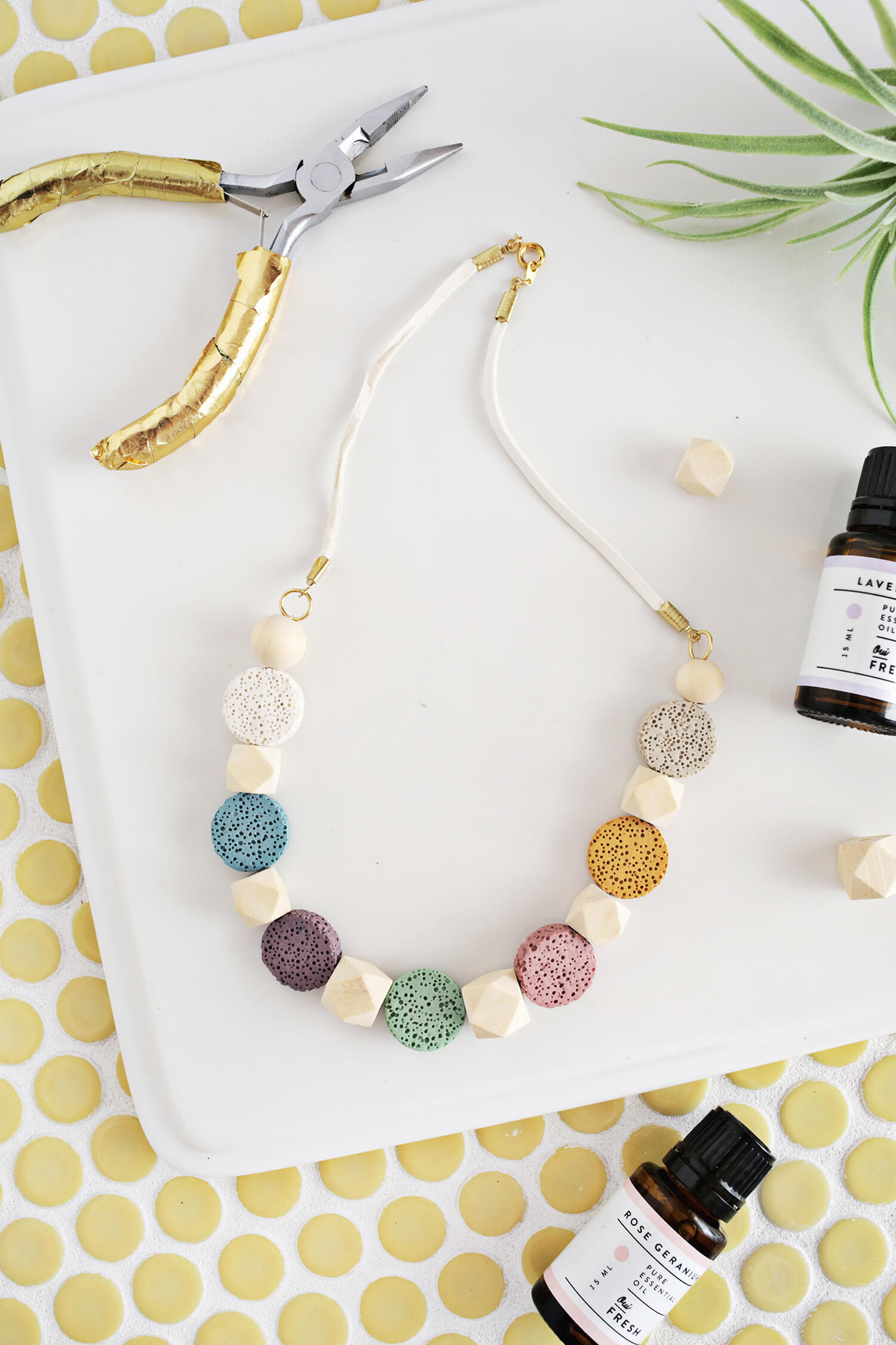chunky love necklace it bead diy find make