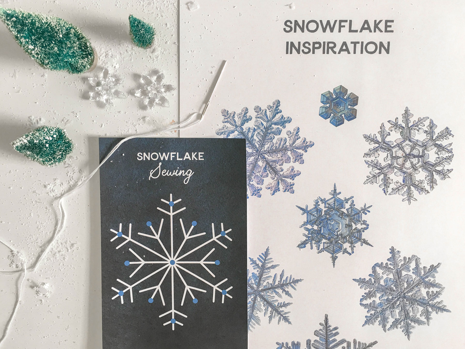 Sewing Snowflakes – Playful Learning 66