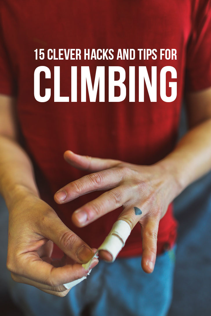 15 Clever Rock Climbing Hacks + Tips + Tricks + Etiquette You Need to Know #rockclimbing #climbing #bouldering // Local Adventurer