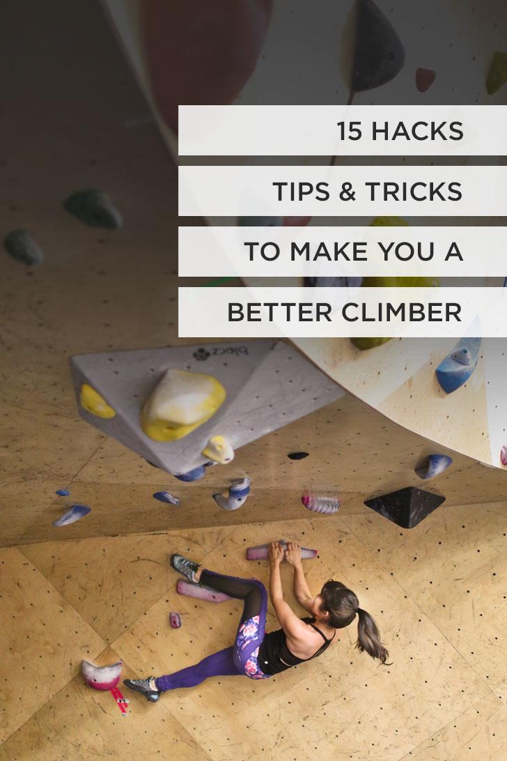 15 Indoor Rock Climbing Tips and Hacks to Make You a Better Climber #climbing #rockclimbing #bouldering // Local Adventurer