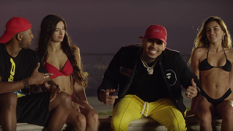 Chris Brown & Lil Dicky Switch Lives in Hilarious