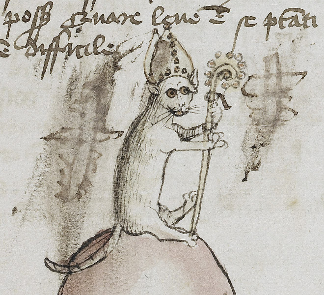 Check out Ugly Medieval Paintings of Cats, it looks like the medieval painters never laid eyes on a cat. 94
