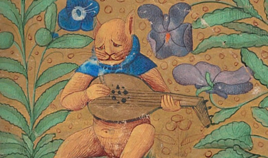 Check out Ugly Medieval Paintings of Cats, it looks like the medieval painters never laid eyes on a cat.